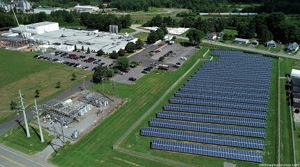 Solar Farm in Corning, NY