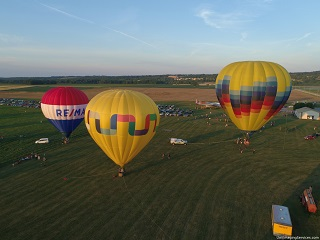 June 2020, Balloon Glow in Geneseo, NY